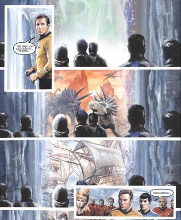 IDW Star Trek Harlan Ellison's The City on the Edge of Forever The Original Teleplay #1 page 3